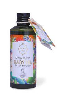 Baby hair oils
